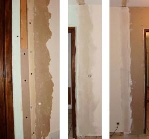 Blog de magicmanu :Aménagement de notre maison, On bouche les trous !