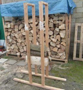 Chevalet scie bûches bois