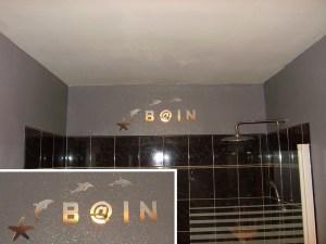 Déco murale salle de bain