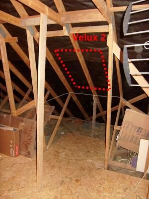 Blog de magicmanu :Aménagement de notre maison, Modification charpente pour les Velux