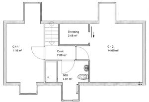 Blog de magicmanu :Aménagement de notre maison, Plan des combles