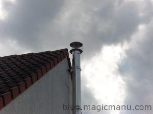 Extracteur statique pour cheminée