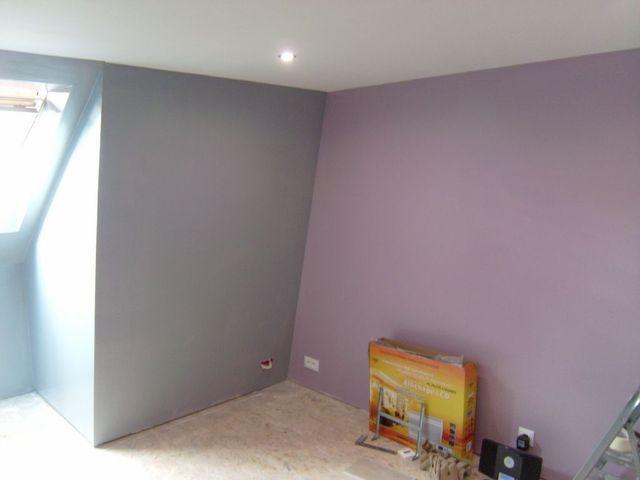 Peinture Chambre Violet Gris Magicmanu