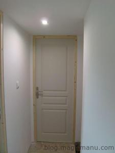 Sous couche placo couloir