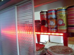 Portes de bar lumineuses