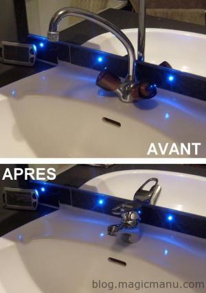 Blog de magicmanu :Aménagement de notre maison, Mitigeur lavabo