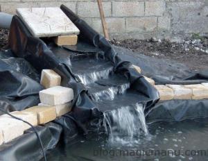 Blog de magicmanu :Aménagement de notre maison, Bassin de jardin - La cascade