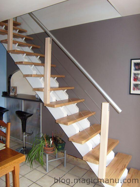 Comment Fabriquer Une Rampe D Escalier Moderne Magicmanu