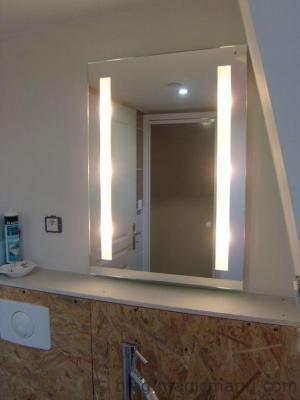 Blog de magicmanu :Aménagement de notre maison, Miroir de salle de bain