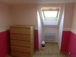 Blog de magicmanu : Aménagement de notre maison, Peinture chambre bébé