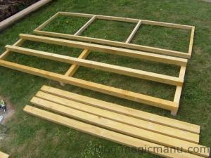 Blog de magicmanu : Aménagement de notre maison, Fabriquer un abri bois (Bûcher)