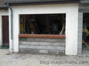 Blog de magicmanu : Aménagement de notre maison, Garage : menuiseries