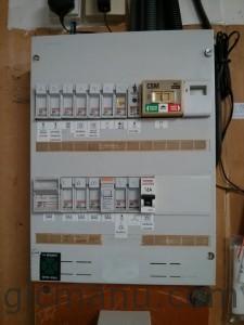 Ancien tableau electrique