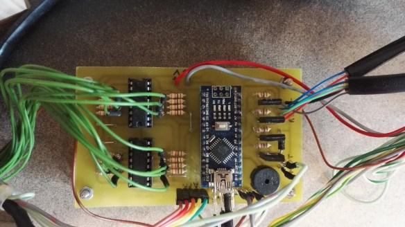 Le circuit électronique à base d'Arduino Nano