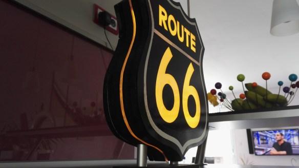 Urne Lumineuse Route 66 3