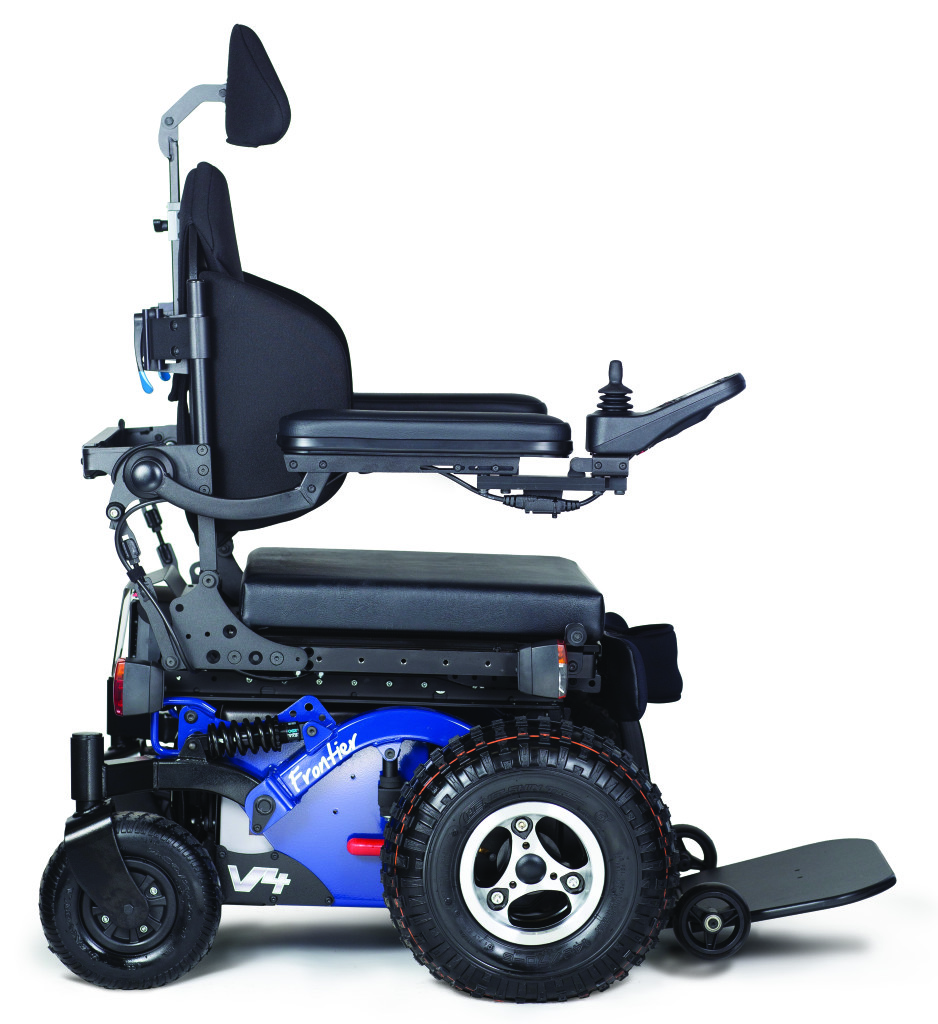 Frontier V4  OffRoad FWD Electric Wheelchair  Magic