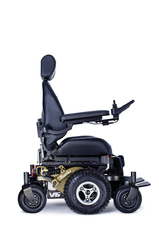 Frontier V6  AllTerrain Electric Wheelchair  Magic Mobility