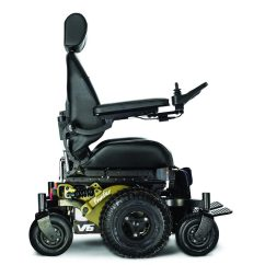 British Mobility Chairs Large Throne Chair Frontier V6 All Terrain Electric Wheelchair Magic