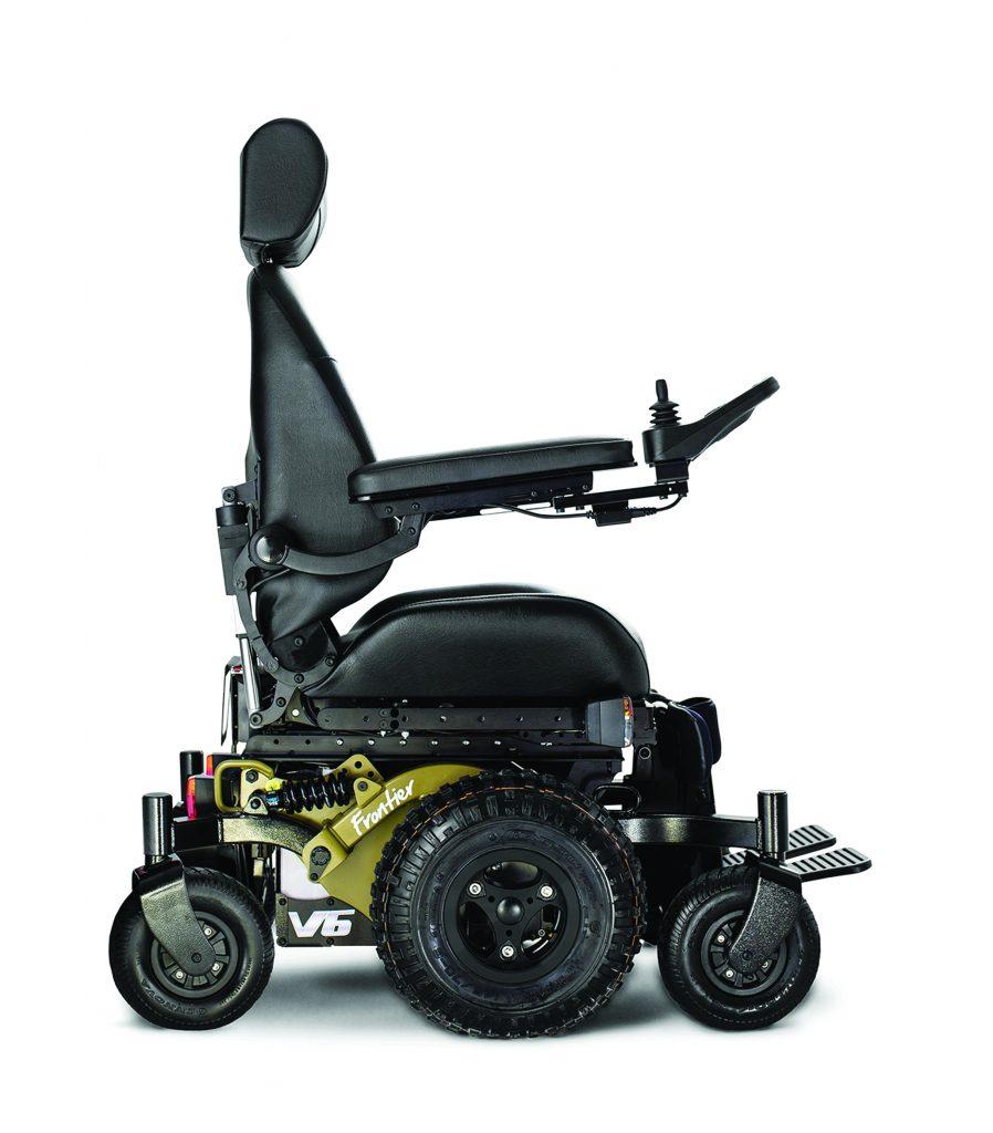 wheel chair motor office high frontier v6 all terrain electric wheelchair magic mobility description specs features