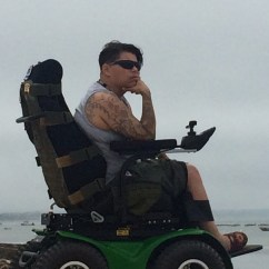 X8 Wheelchair Dorel Rocking Chair Adventure Is Necessary For Users Magic Mobility Angie Lupe Uses Her Extreme To Go On Adventures