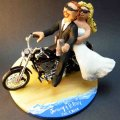 Custom wedding cake toppers wedding cake topper of the day