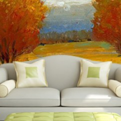 Wall Mural Ideas For Living Room Colors Dark Furniture Murals The