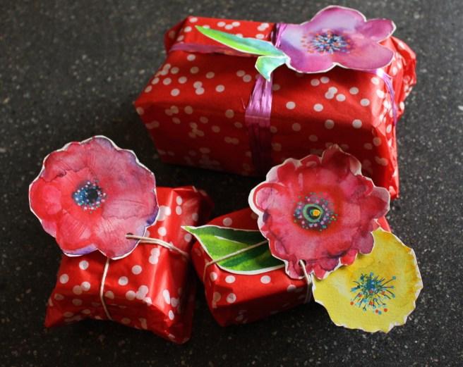 Last minute wrapping idea