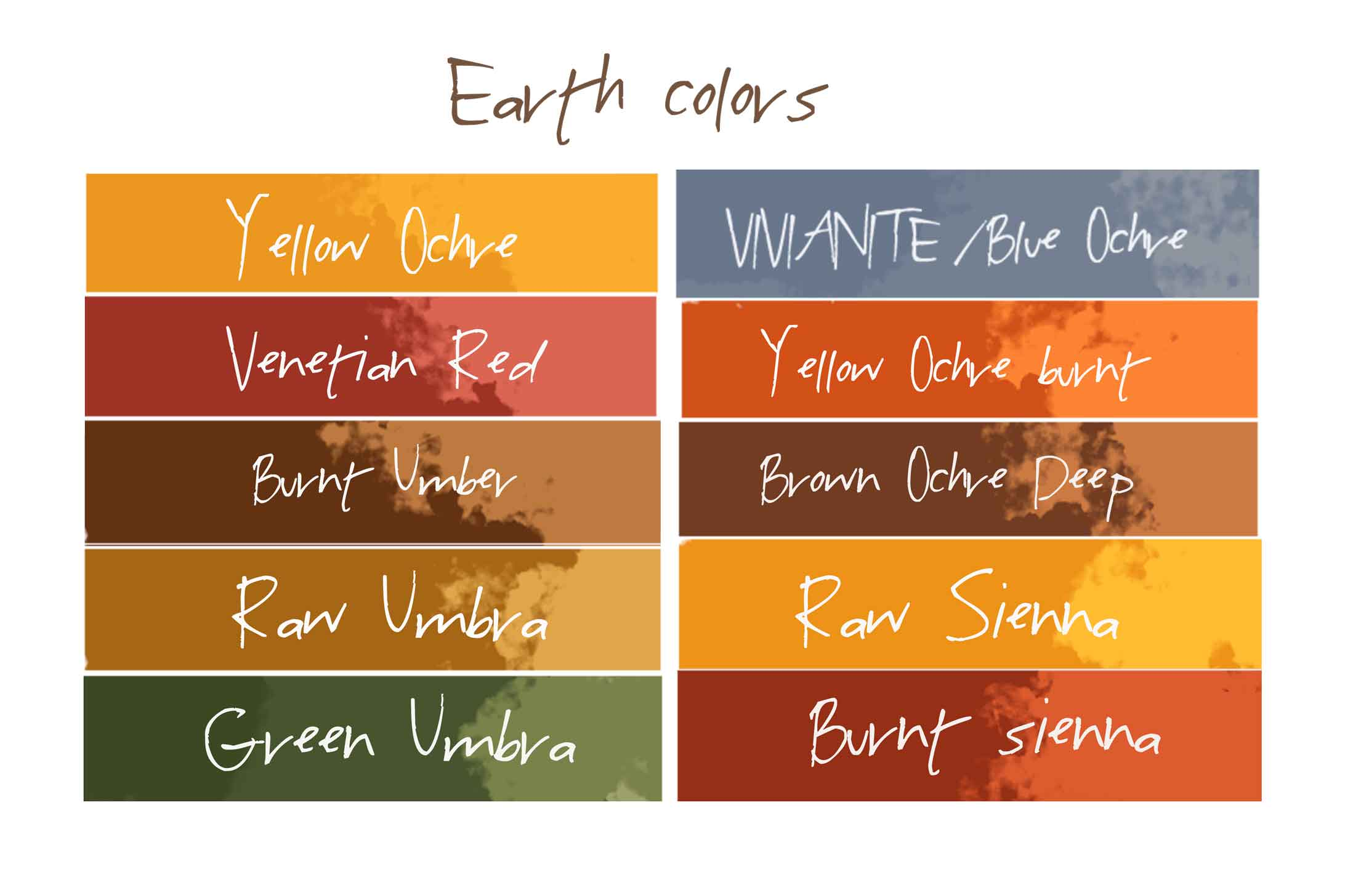 Earth Colors Part - 42: Get The Most Out Of Your Paintings Using Earth Colors
