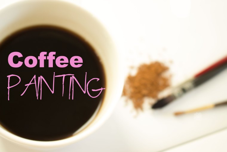 Coffee painting tutorial ,Learn how to with Coffee or tea, click now to learn all about it