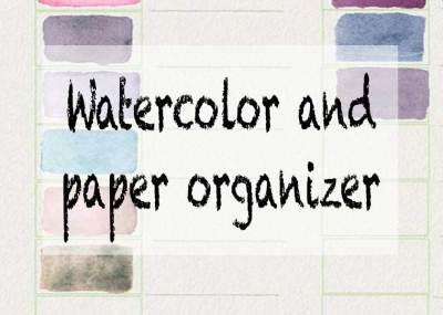 paper organizer art organizer