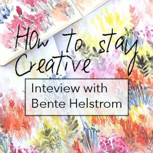 Bente-hellstrøm- interview on how to Atay creative