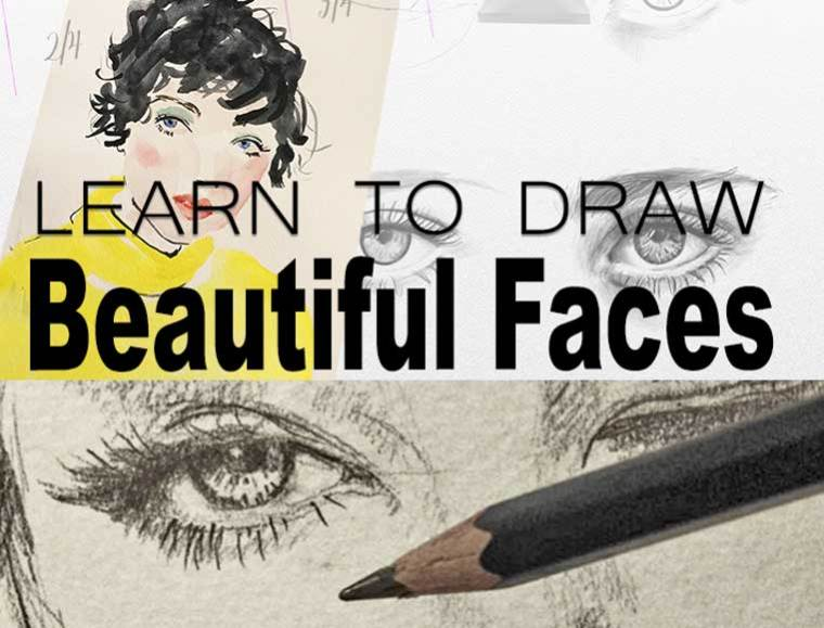 Art course , how to draw a beautiful face .Of all the courses I that I give, drawing and painting faces is the most popular and I have searched and searched for good materials to share with my students. And in the end, I have realized that I had to make it myself. So this course is full of completely original videos, diagrams, and Images that I made for my students, whether they are complete beginners, or more advanced students who want to perfect their skills.