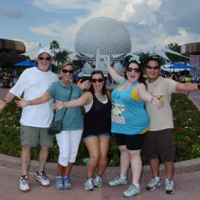 (August 2014 Trip Report) At Epcot and it's HOT