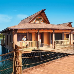 A Look Inside the Polynesian DVC Bungalow