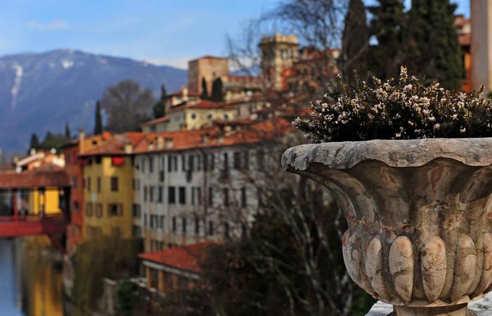 Bassano del Grappa e territorio bassanese fiume Brenta