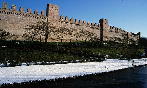 Cittadella citt murata visita camminamento di ronda delle mura medioevali casoni veneti