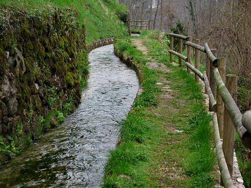 Alto Vicentino Val Leogra  via dellacqua Valli del