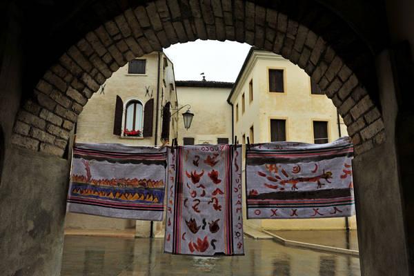 Portobuffol fiume Livenza Porta Friulana Porta Trevigiana museo casa Gaia Da Camino