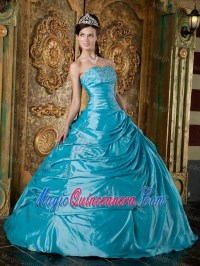 Eye Catching Strapless Appliqued Sweet Sixteen Dresses in
