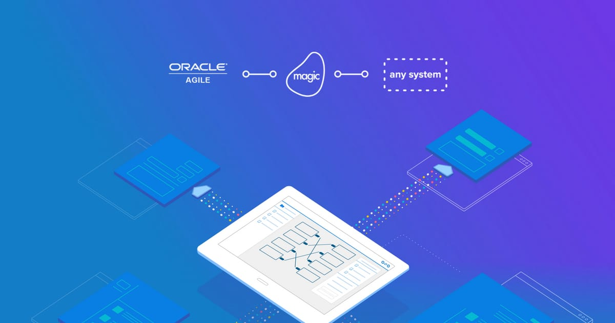 Oracle Agile PLM Integration Platform l Magic Software