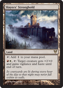 Slayers Stronghold from Avacyn Restored Spoiler