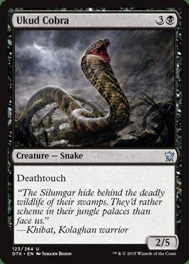 Ukud Cobra From Dragons Of Tarkir Spoiler