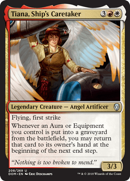 Tiana, Ship's Caretaker - Dominaria Spoiler