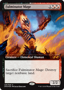 Fulminator Mage from Ultimate Masters Spoiler