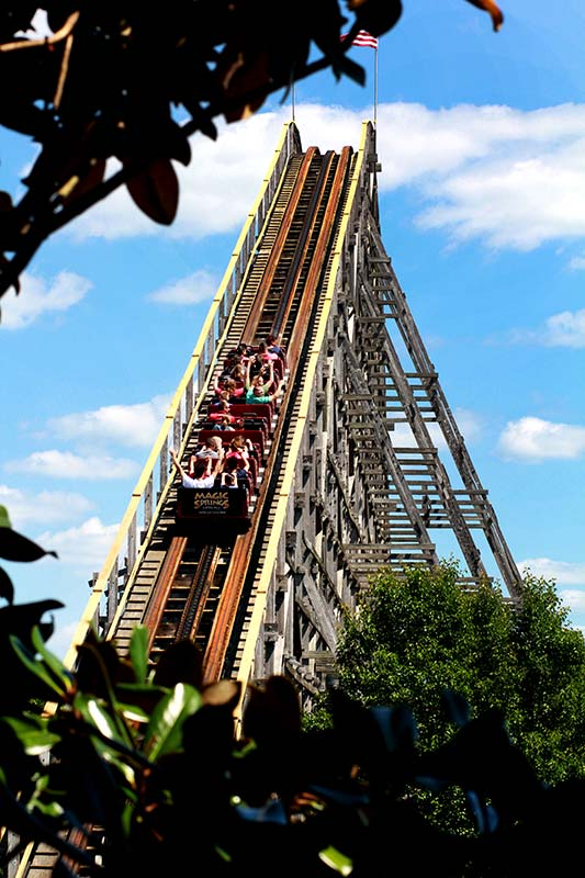 Magic Springs Theme and Water Park  Thrill Rides