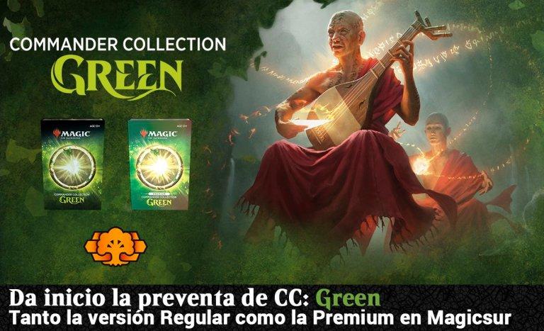 Preventa de commander collection green en Magicsur blog magicsur