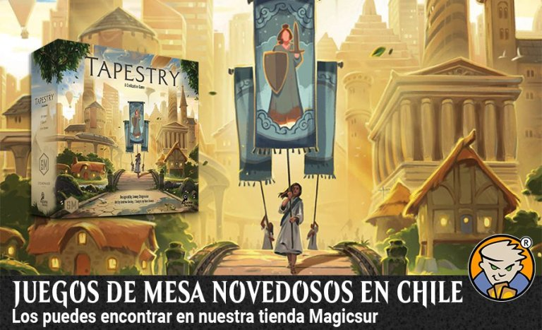 Juegos de mesa novedosos en Chile banner magicsur chile blog