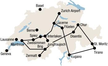 Switzerland Tours By Train Swiss Rail Journeys Magic