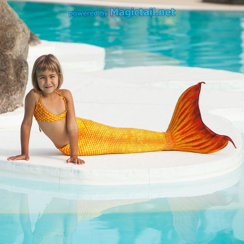 Mermaid tail set H2O XS bra and pant