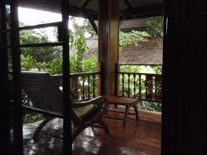 the view from our room in Pai